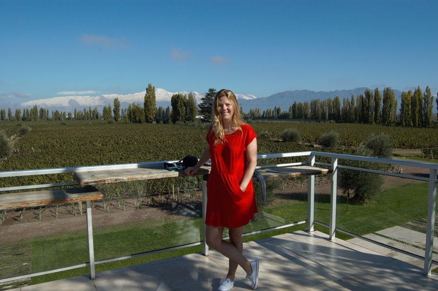 Wine journalist Amanda Barnes