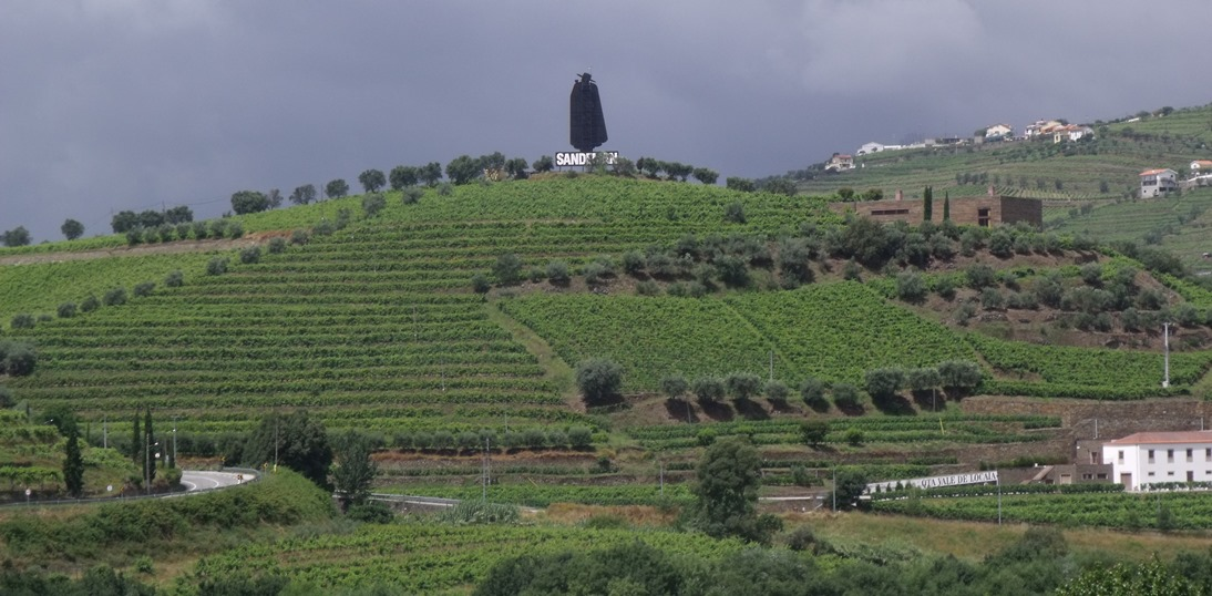 Landscape in the Baixo Corgo, the westernmost area of the Douro