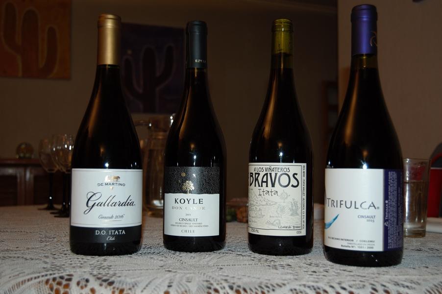 Cinsault wine lineup