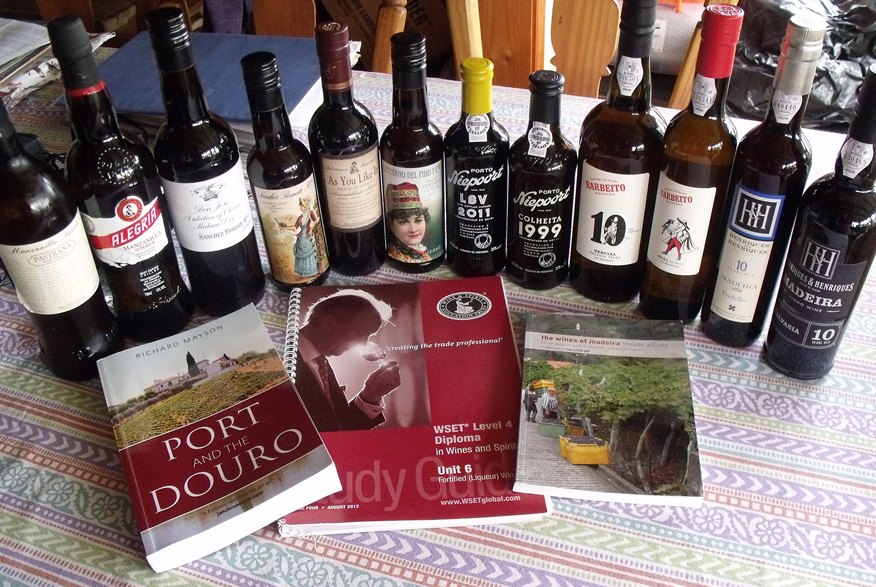 Fortified wine study