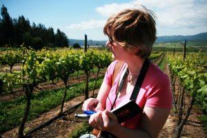 Helen among vines 2