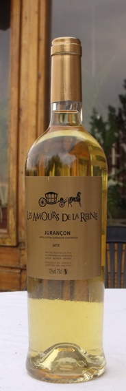 Bottle of Jurançon wine