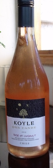Rosé wine from Koyle