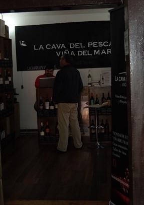 Looking into Cava del Pescador