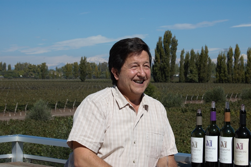 Santiago Achával, Matervini and Malbec wine