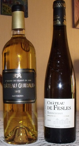 Wines with botrytis