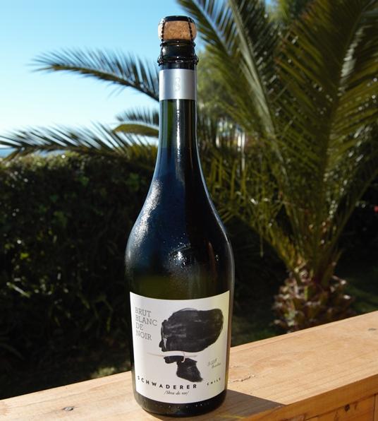 Schwaderer sparkling País wine