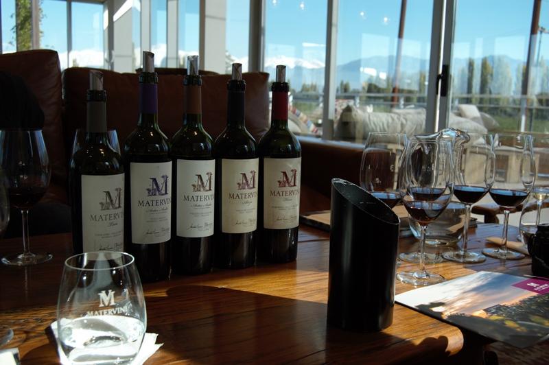 Matervini and Malbec wines
