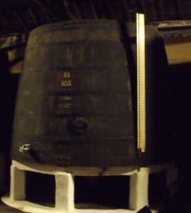 Large vat of ageing Port
