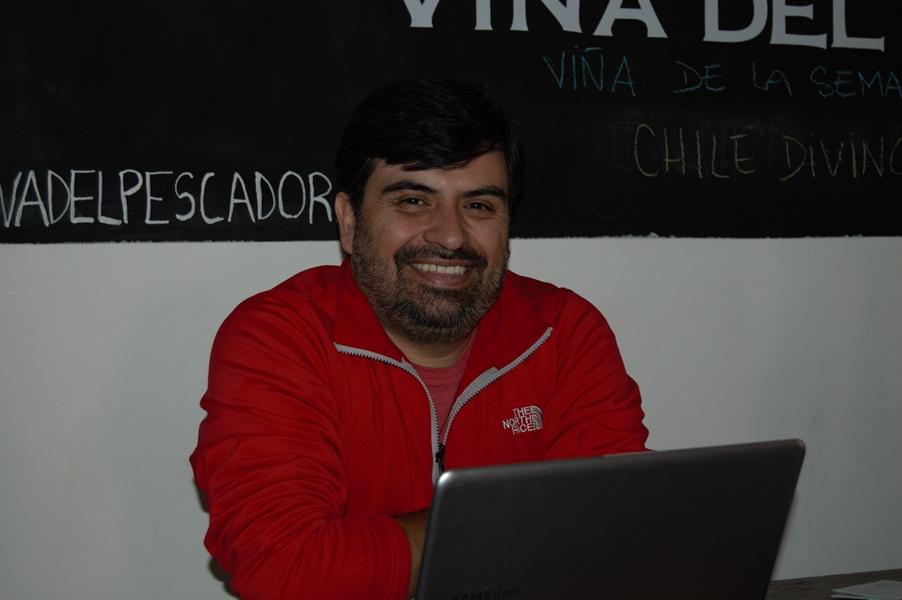 Jorge Lopez, owner of Cava del Pescador