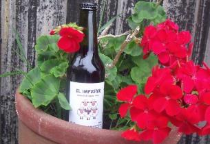 A cheeky wine to mark a big challenge