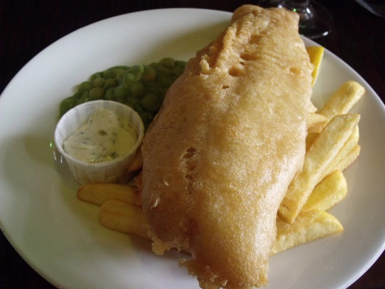 How about trying an oaked Chardonnay with your fish and chips?