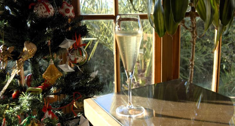 Sparkling wine for the festive season