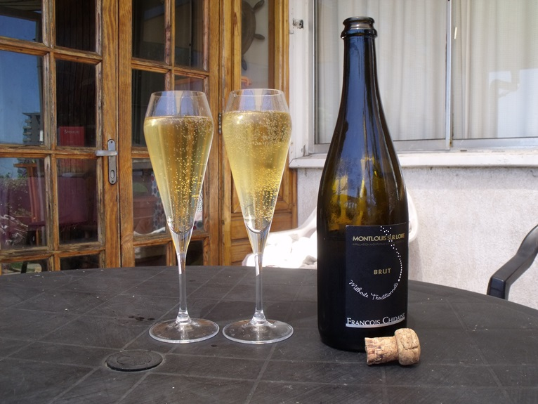 sparkling wine from the Loire