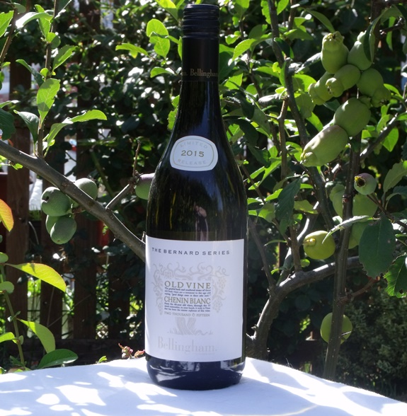 Chenin Blanc wine from South Africa