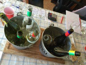 botellas de Sauvignon Blanc