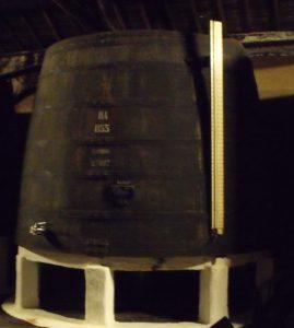 Large vat of ageing Port