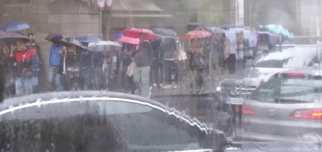 it rains a lot in Porto