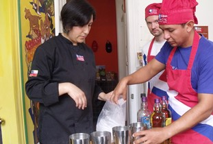Cooking classes for tourists in Valparaíso