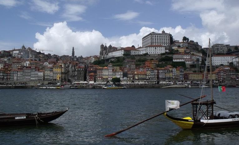 view towards Oporto